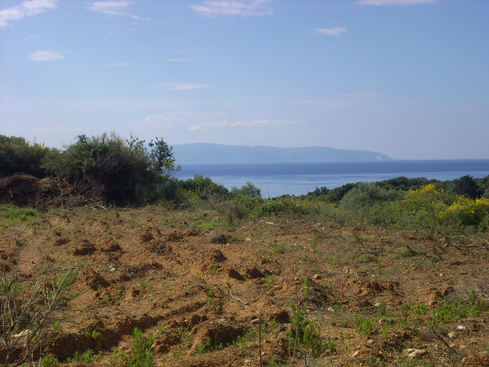 Plot In Pessada Village Overlooking Zakynthos Island