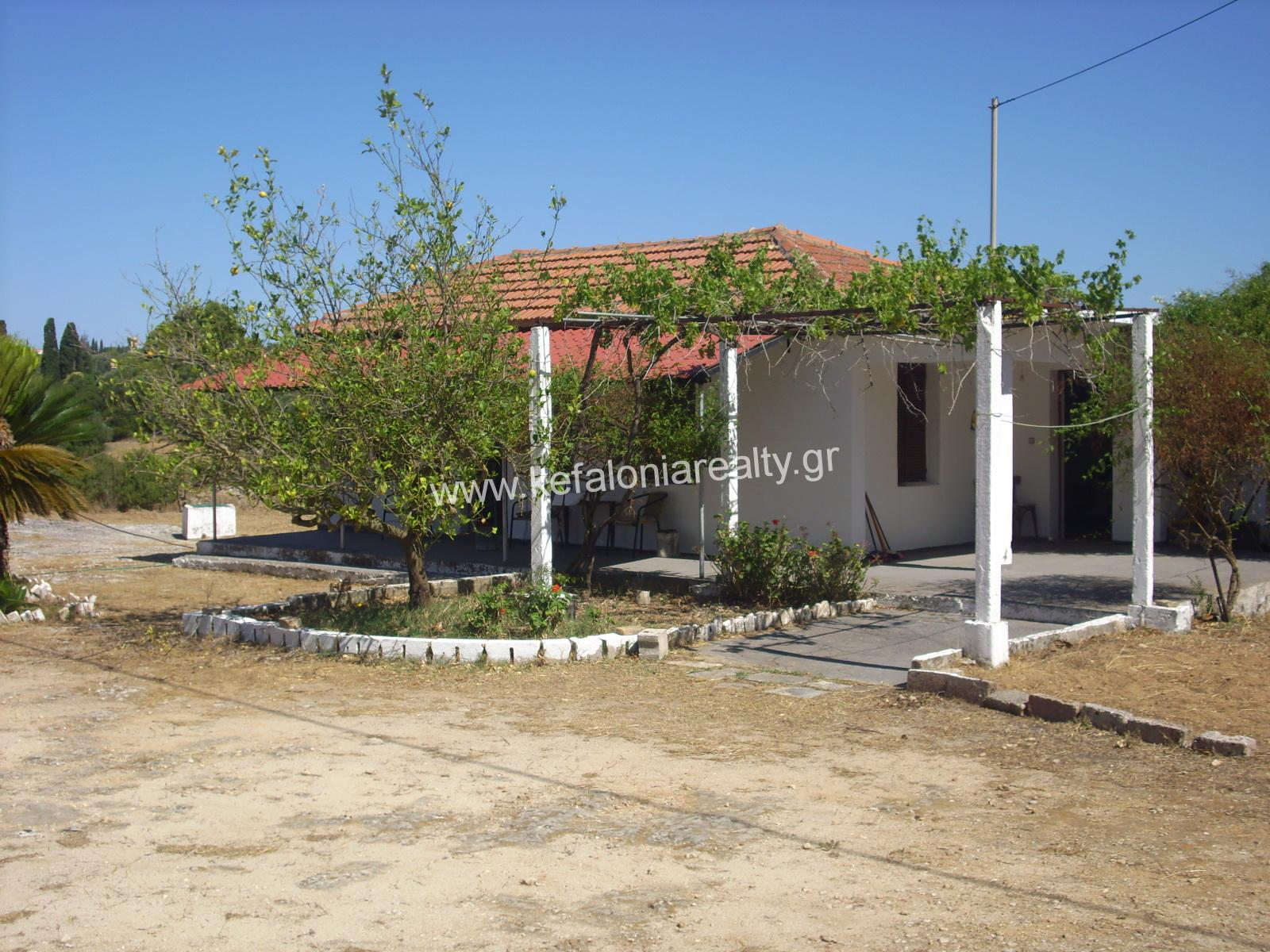 Cottage For Renovation  In Metaxata Village
